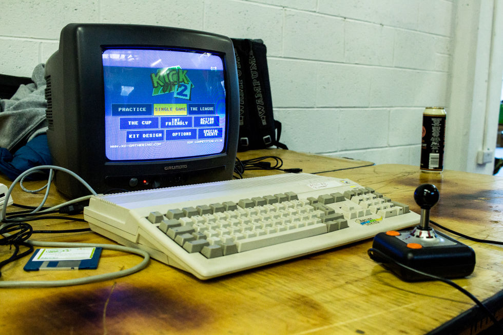 The Kick Off 2 World Cup: Competitive e-sports with a 25-year-old Amiga game