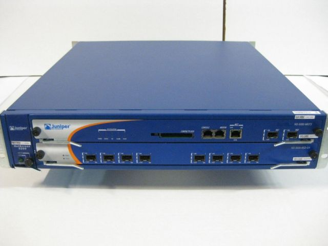 The Juniper NetScreen 5200, one of the firewalls that carries the backdoor code inserted into Juniper's ScreenOS.