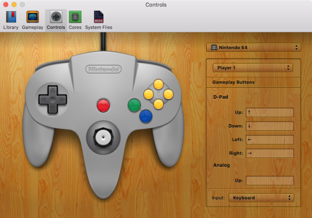 The N64 is one of the new emulators that have been added for OpenEmu 2.0.