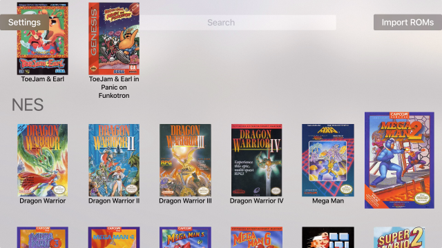 Using the new Apple TV to emulate classic game consoles | Ars Technica