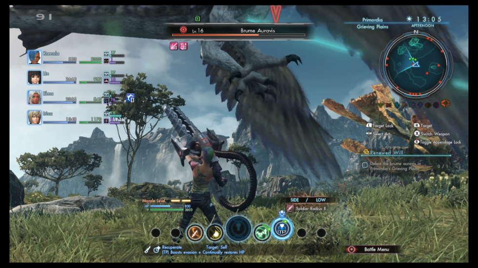 <i>Xenoblade Chronicles X</i> operates on a massive scale in more ways than one.