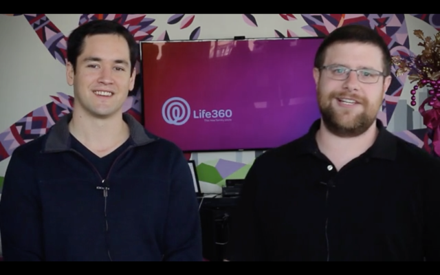 Life 360 co-founders Chris Hulls and Alex Haro.