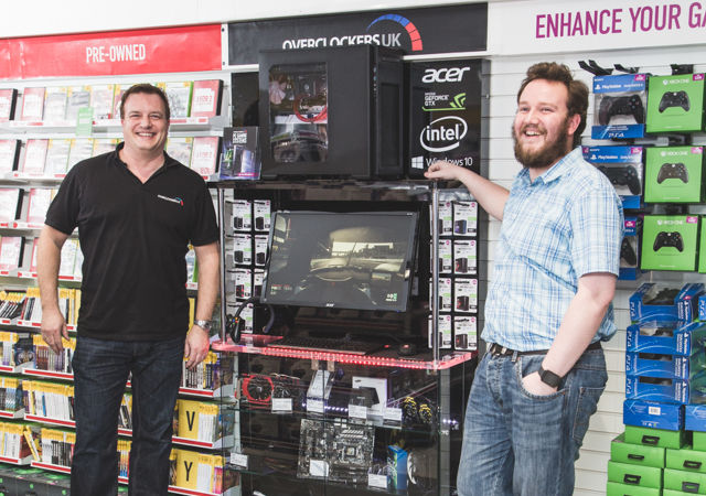 Game starts selling PC components in-store thanks to Overclockers UK