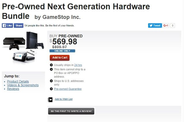 Deals on gaming hardware this good don't come along that often.