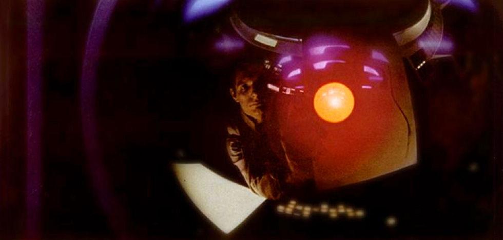 HAL 9000 in the film <em>2001</em>.
