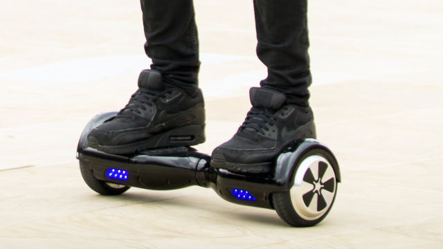 Amazon UK urges customers to dispose of unsafe hoverboards