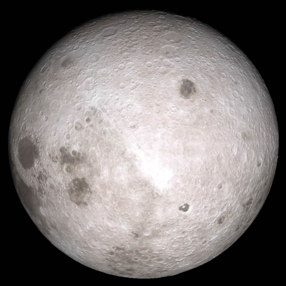 The far side of the Moon. No robotic spacecraft has ever made a soft landing here.
