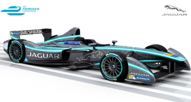 That cat is electric! Jaguar will enter Formula E next season
