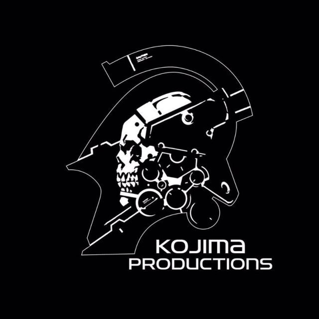 The logo for the newly independent Kojima Productions, which is working on a PS4 console exclusive.