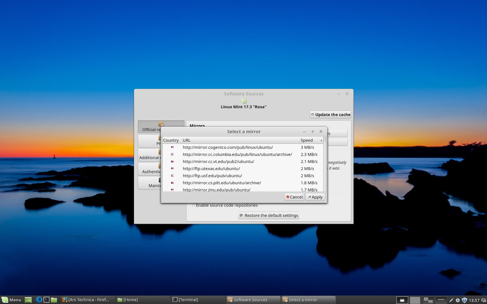 Review: Mint 17 3 may be the best Linux desktop distro yet | Ars