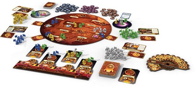 Mission: Red Planet at initial game setup.