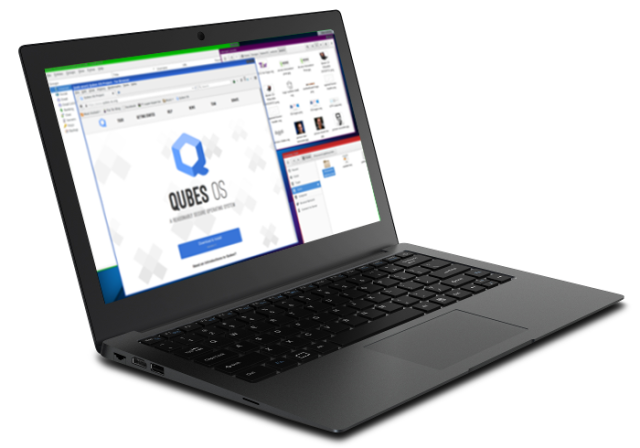 Qubes OS will ship pre-installed on Purism's security-focused Librem 13 laptop