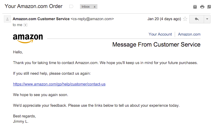 How Amazon Customer Service Was The Weak Link That Spilled