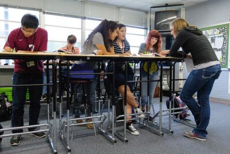 Standing desks may boost students' cognitive function as well as health