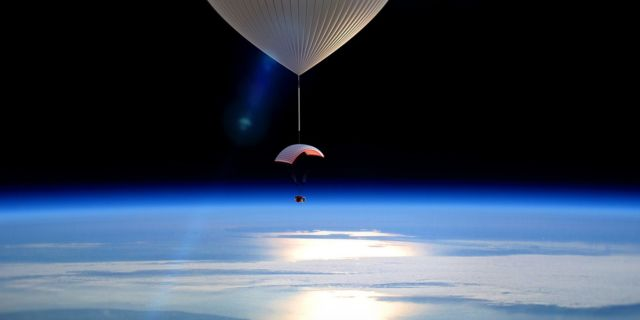 Who wouldn't want to see space from the comfort of a balloon capsule?