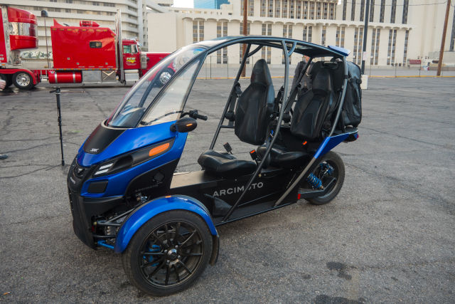 The Arcimoto SRK electric vehicle is the most fun thing we ...