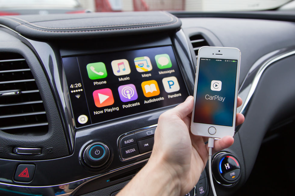 Banish your car's stock infotainment system to the background with CarPlay.