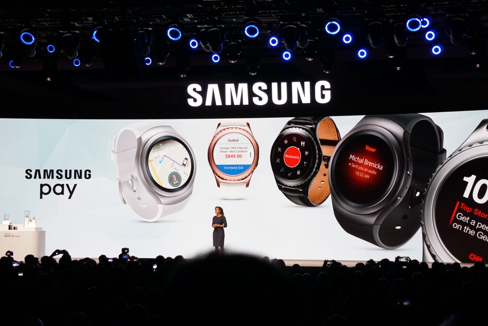 You'll soon be able to pay using Samsung Pay and NFC from the smartwatches.