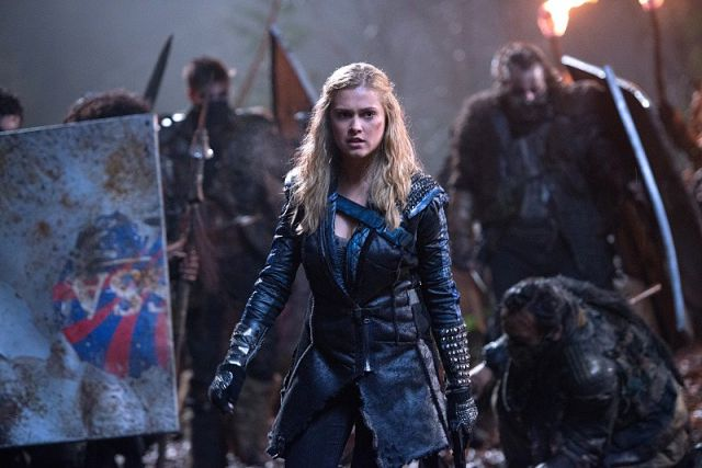 Eliza Taylor as Clarke Griffin in <i>The 100</i>.