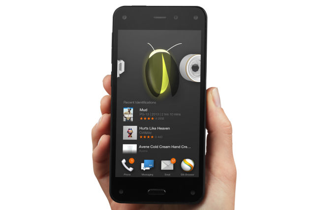 The failed Amazon Fire phone.