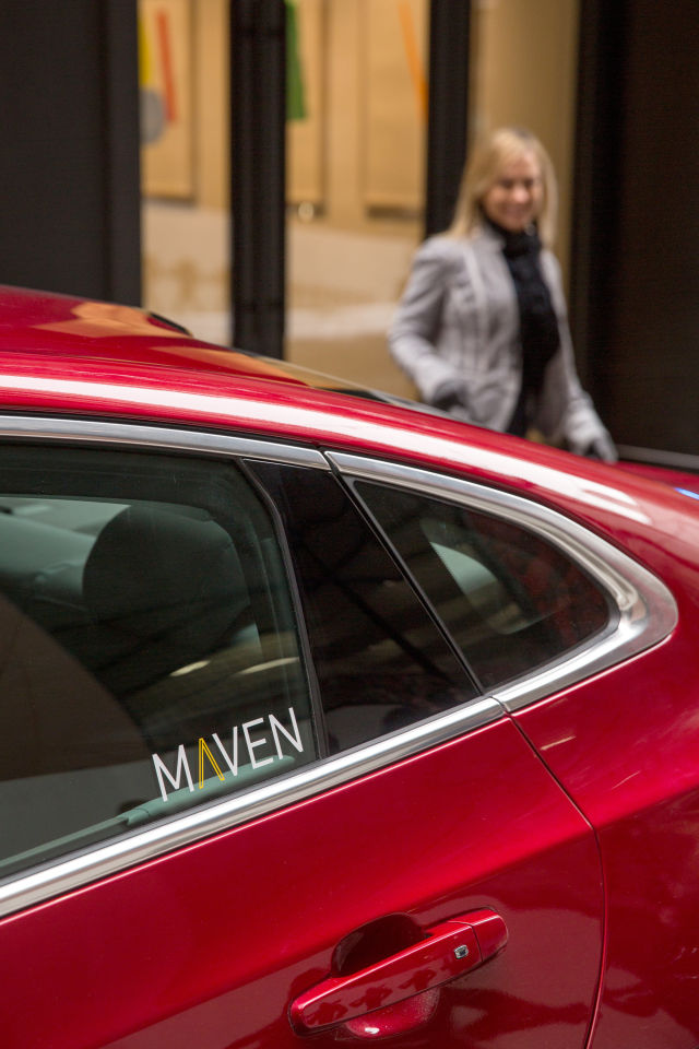 "General Motors bought Sidecar, gave Lyft millions, now it's launching ""Maven"""