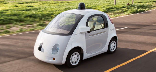 In Google's (now Waymo's) custom-built cars, everything is more integrated. The black radar sensors live in the