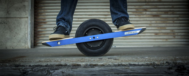 Future Motion, a California startup, claims that Changzhou infringed two patents for its Onewheel scooter, pictured here.