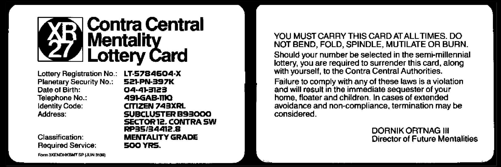 Remember the days when games came with identification cards? We miss you, Infocom.