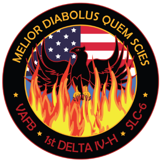 NROL-39 Nothing Beyond Our Reach MISSION STICKER ~ U.S Recon Spy Satellite NRO