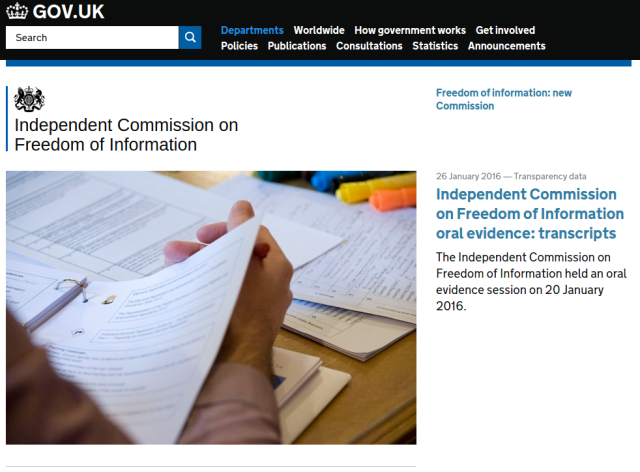 UK government retreats on plans to water down the Freedom of Information Act
