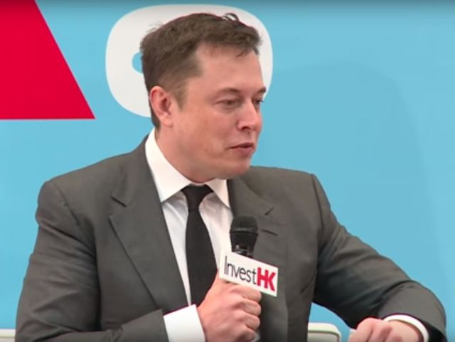 Elon Musk, SpaceX chief executive, at the StartmeupHK Festival in January.