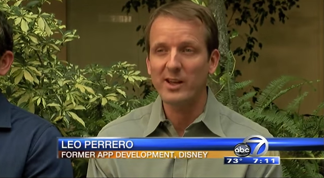 Leo Perrero has sued his former employer, The Walt Disney Company. He says the company gave him 90 days to train his replacement, who had an H-1B visa.