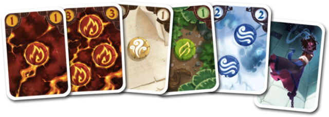 "The game's various ""elements."""