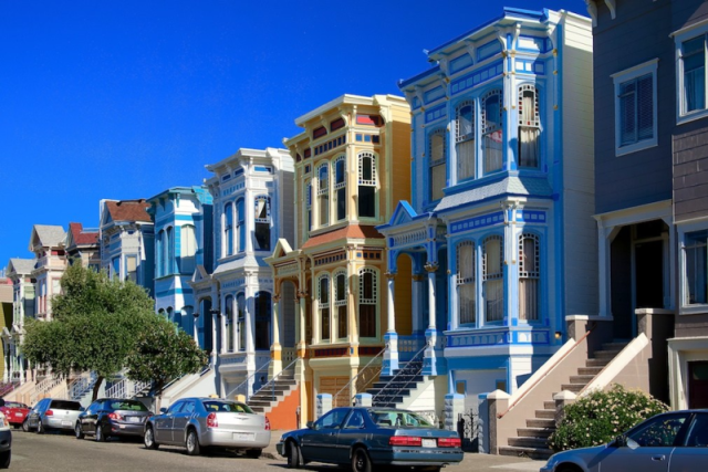 San Francisco's Mission neighborhood.