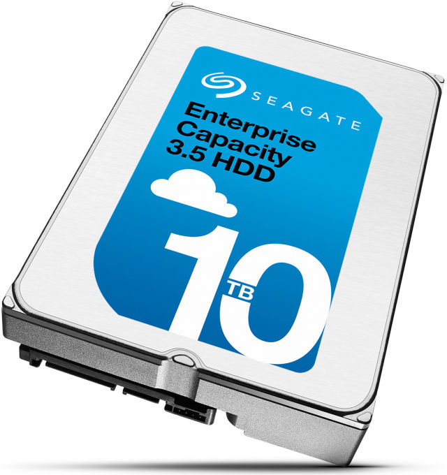 Seagate unveils its own 10TB helium-filled hard drive