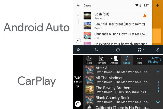 CarPlay vs Android Auto: Different approaches, same goal