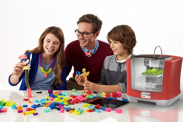 Kids will soon make their own toys with Mattel's $300 ThingMaker 3D printer