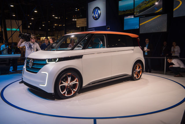 Your other option for an electric Microbus is to wait for VW to finally build a production version of this, the BUDD-e.