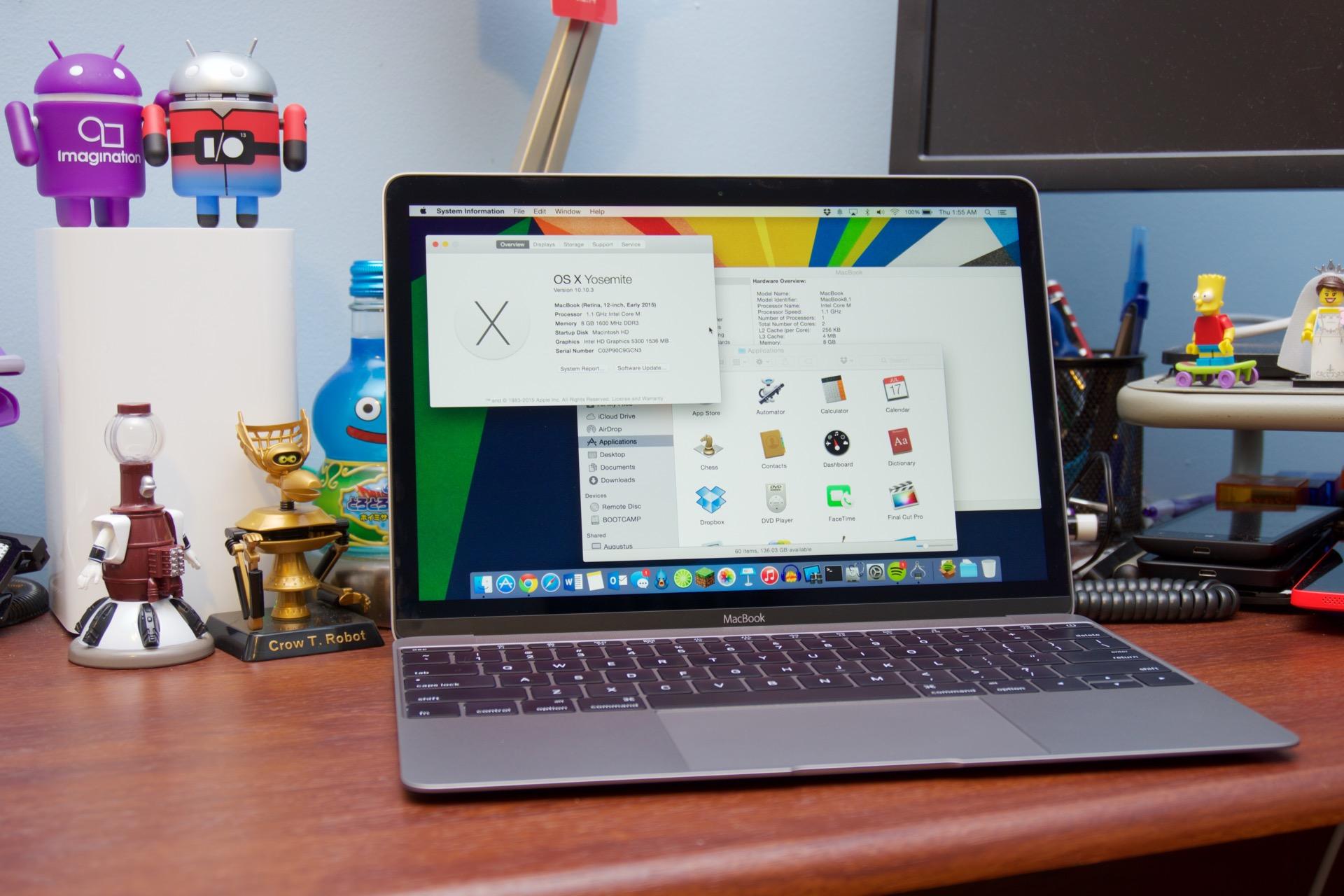 Skinny, fanless laptops like Apple's MacBook use Core M CPUs instead.