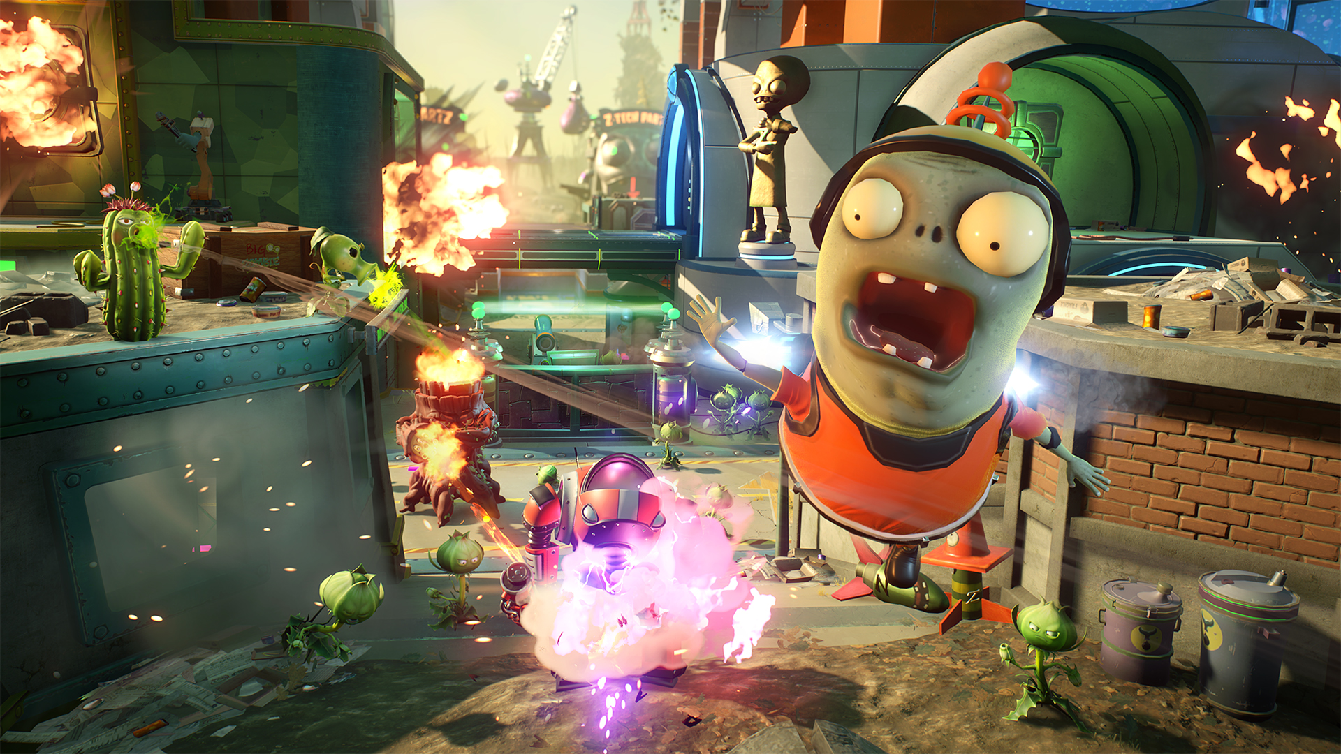 Results 1 - 48 of 977 ... Zombies: Garden Warfare 2 USED SEALED (Microsoft Xbox One, .... <p>Up for  sale is a fantastic PS3 game Plants vs zombies -garden...