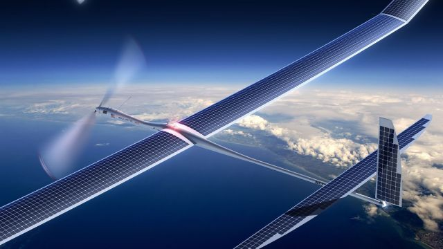 Alphabet ended drone Internet project, saying economics didn't work out