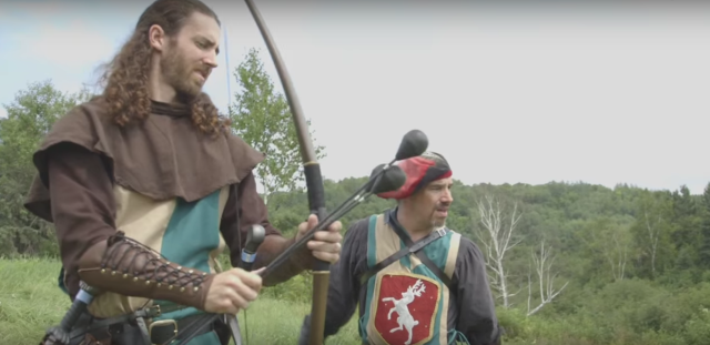 LARP archers accused of patent infringement.