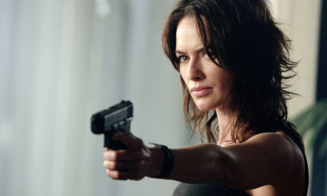Sarah Connor in the series <em>The Sarah Connor Chronicles</em>.