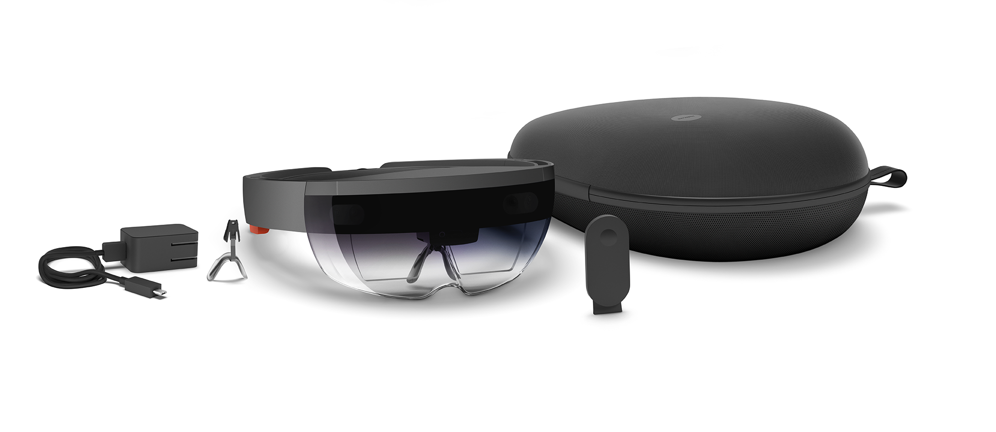The full HoloLens Development Edition kit.