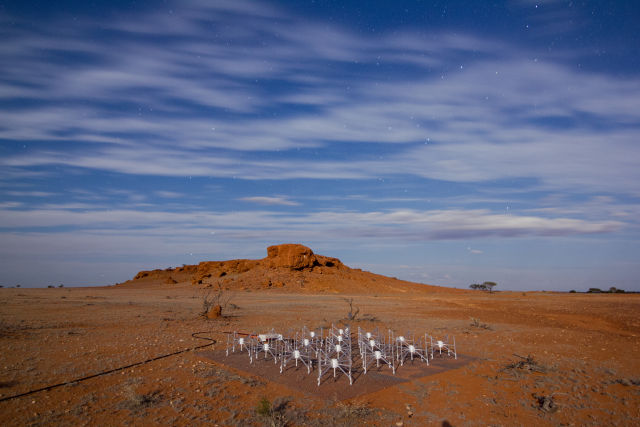 Part of the Murchison Widefield Array.