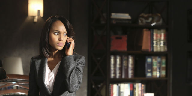 Olivia Pope on <em>Scandal</em>.
