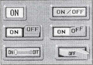 """A 1992 paper by Catherine Plaisant describes a touchscreen """"slider toggle."""""""