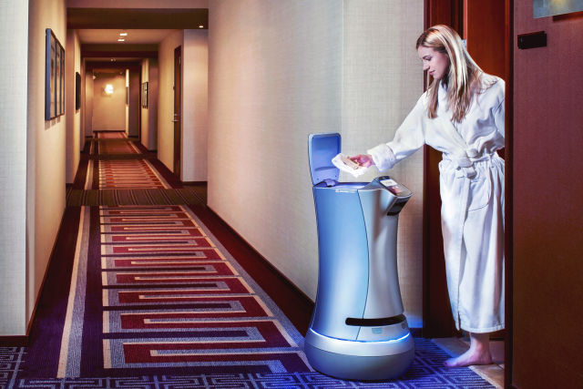 Robot room service is coming to US hotels courtesy of startup Savioke