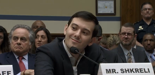 Martin Shkreli, former CEO of Turing, smirked his way through a Congressional hearing.