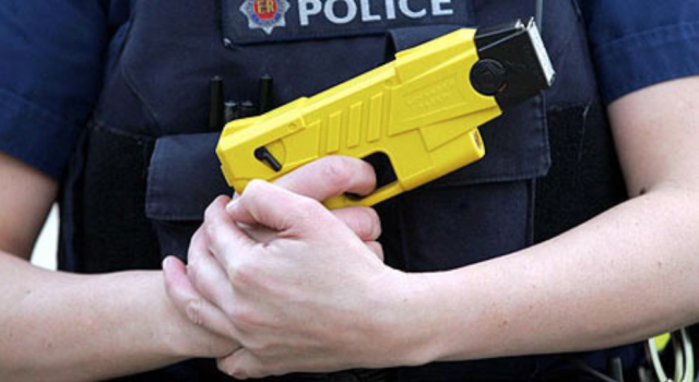 "Study: Suspects shocked by Taser ""more likely"" to waive Miranda Rights"